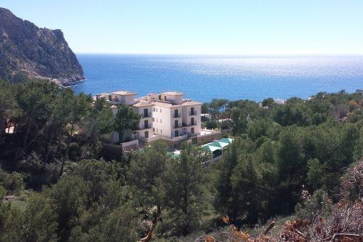 Plot with sea views for a villa in Puerto de Andratx