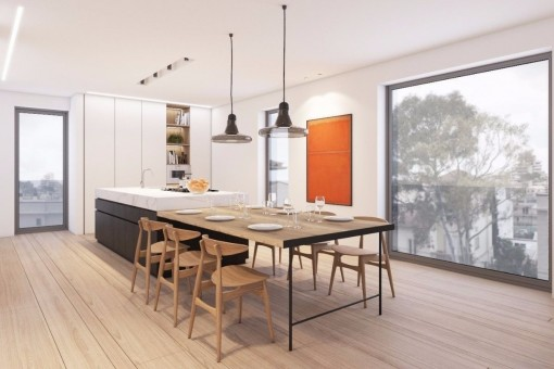 Modern, stylish, brand-new apartment in the desirable neighbourhood of Son Armadans in Palma