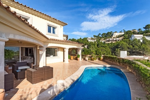 Low-maintenance Mediterranean villa in a good location in Puerto Andratx
