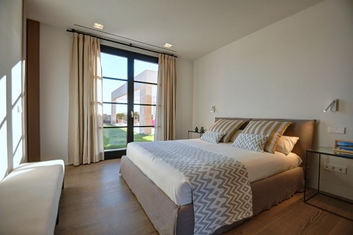 One of 5 comfortable double bedrooms