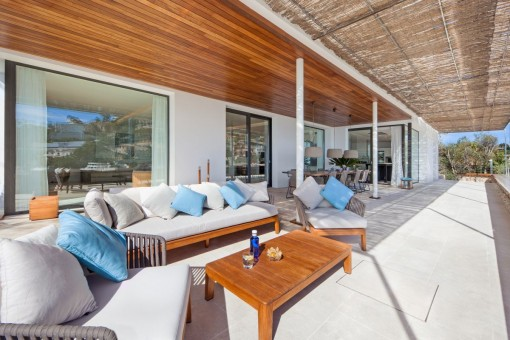 The villa offers the highest level of living comfort