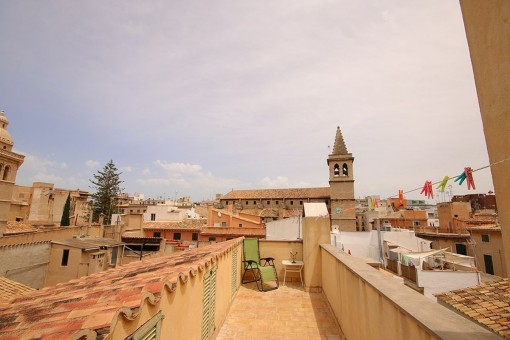 Beautiful duplex penthouse with terrace and lift in the old town of Palma