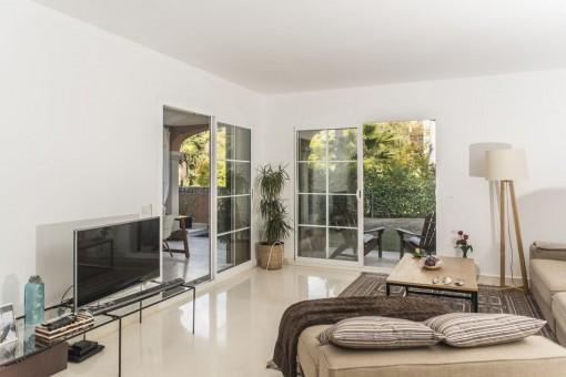 Beautiful garden apartment in a fantastic complex in Son Vida
