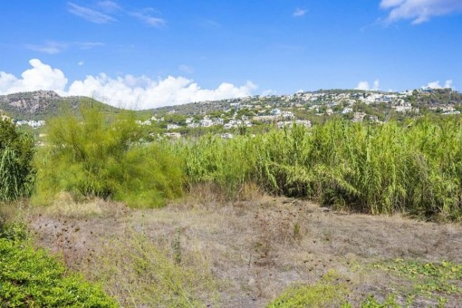 Building plot near to the wonderful harbour of Puerto Andratx, Mallorca
