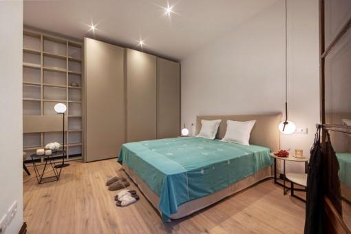 Master bedroom with buit-in wardrobe