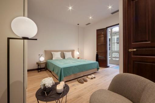 Alternative bedroom view