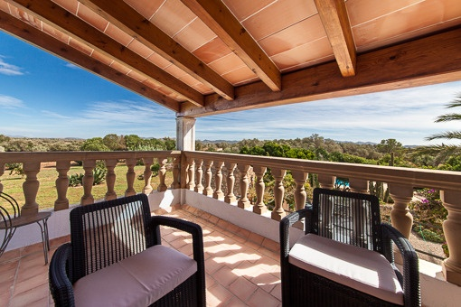 Impressive landscape views from the balcony