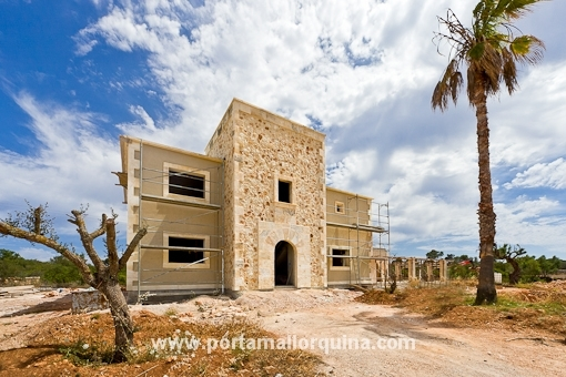 Mediterranean style Villa under construction 5 minutes away from Trenc