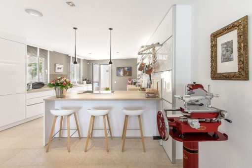 Modern kitchen of highest quality