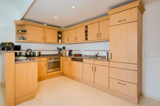 Fitted in kitchen