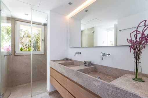 Bathroom with daylight