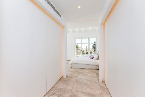 Built-in wardrobe from the master bedroom