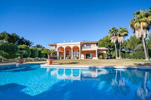 Impressing villa with spectacular views in the upper part of Son Vida
