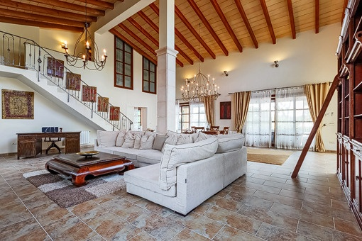 Traditional living area