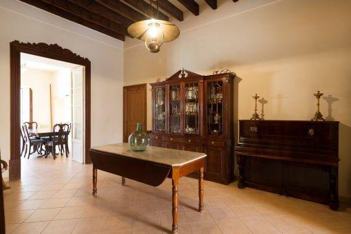 Corridor with typical Majorcan furniturema