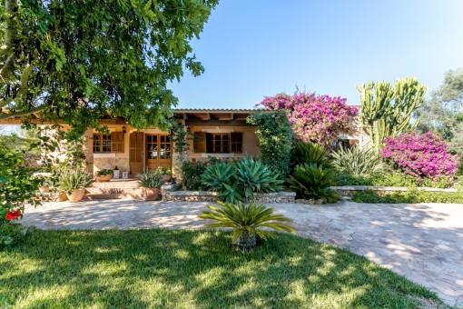 Bekvämt hus i de lugna omgivningarna av Santa Margalida