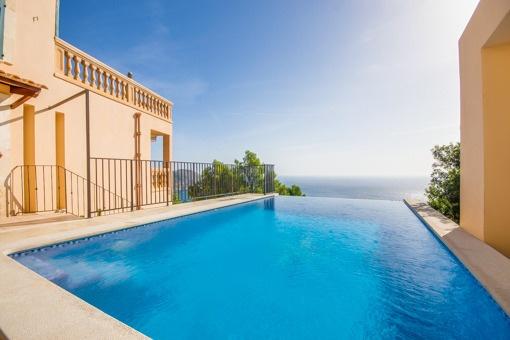 Fantastisk villa med spektakulär havsutsikt i Canyamel
