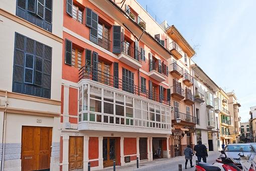 Hus i Palma de Mallorca Gamla stan