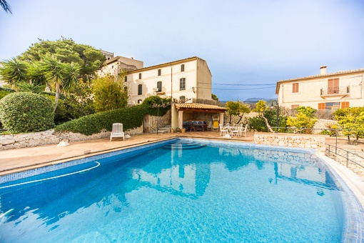 Original Manorhouse with Pool and Views to the Alcudia Bay