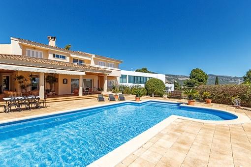 Grand villa in a quiet residential area of Palmanova