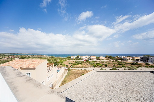 Fantastic sea views from the terrace