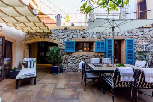 Mallorquin patio