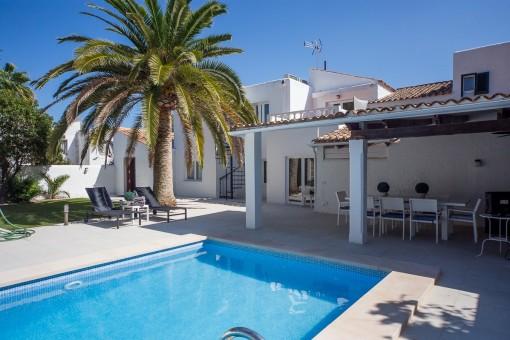 Modern fully furnished villa in Sol de Mallorca
