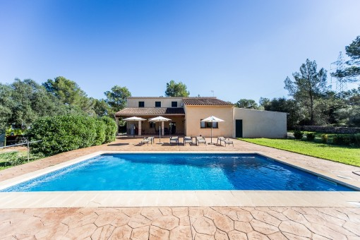 Lovely finca with pool surrounded by pine forests in the middleof the island
