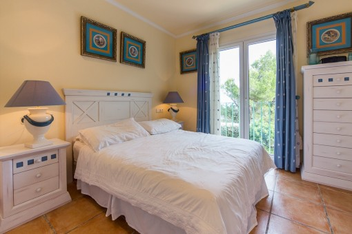 Friendly master bedroom