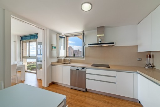 Mdern, fully-equipped kitchen