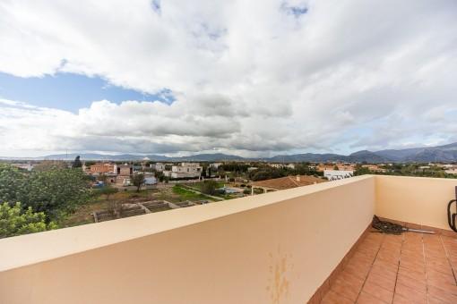 Views over Sa Planera