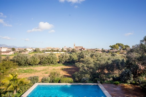 High quality finca in Biniali with panoramic views of the Tramuntana mountains