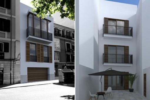 Hus i Palma de Mallorca Gamla stan Köpa