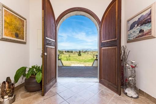 Beautiful Finca property in a privileged location near to Biniali-purchase