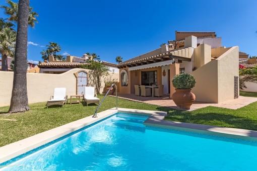 Härlig villa på Santa Ponsa golfbana