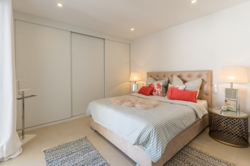 Alternative view of the master bedroom