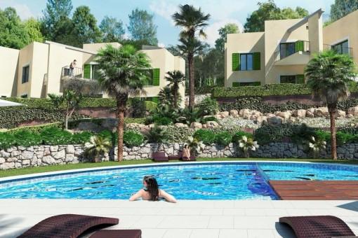 Lägenhet i Cala Vinyas