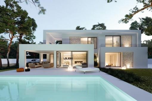 Villa i Cala Llombards