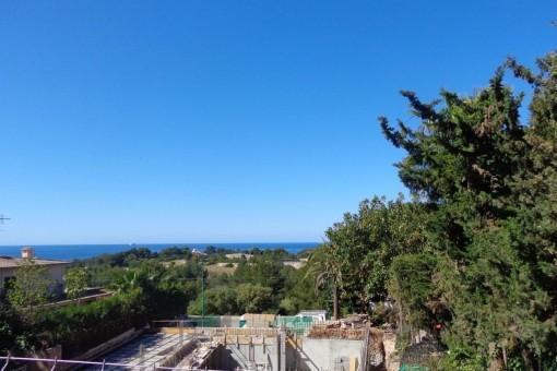 Views to the mediterran sea