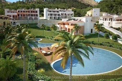 Hus i Camp de Mar