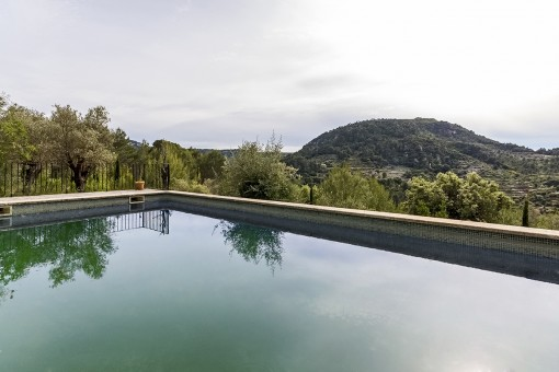 Gorgeous landscape views from the pool