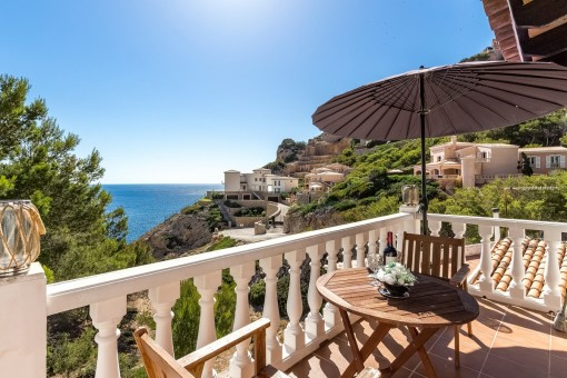 Beautiful sea-view apartment in a quiet location in Puerto Andratx