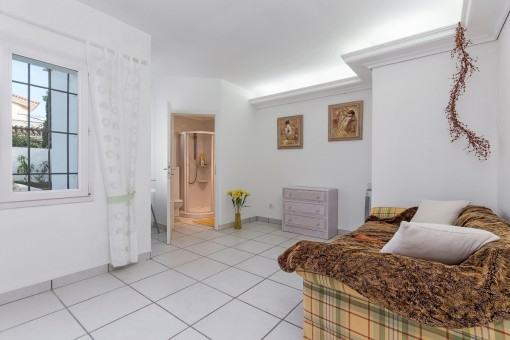 Third bedroom of the villa