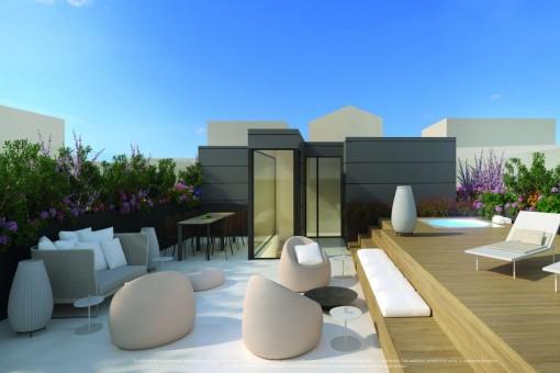 Lägenhet i Palma City Köpa