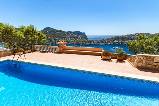 Wonderful views from the pool