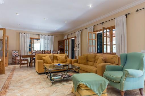 Mallorquin living area