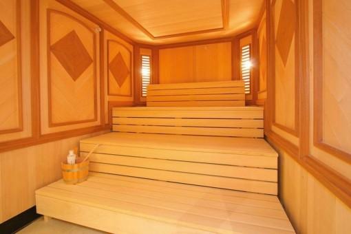 Charming sauna