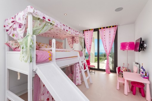 Bright children's room
