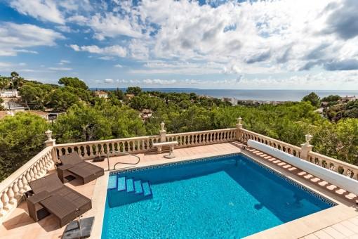 Villa i Costa den Blanes