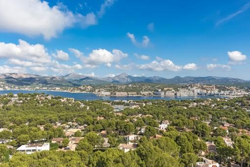 Beautiful views over the bay of Santa Ponsa